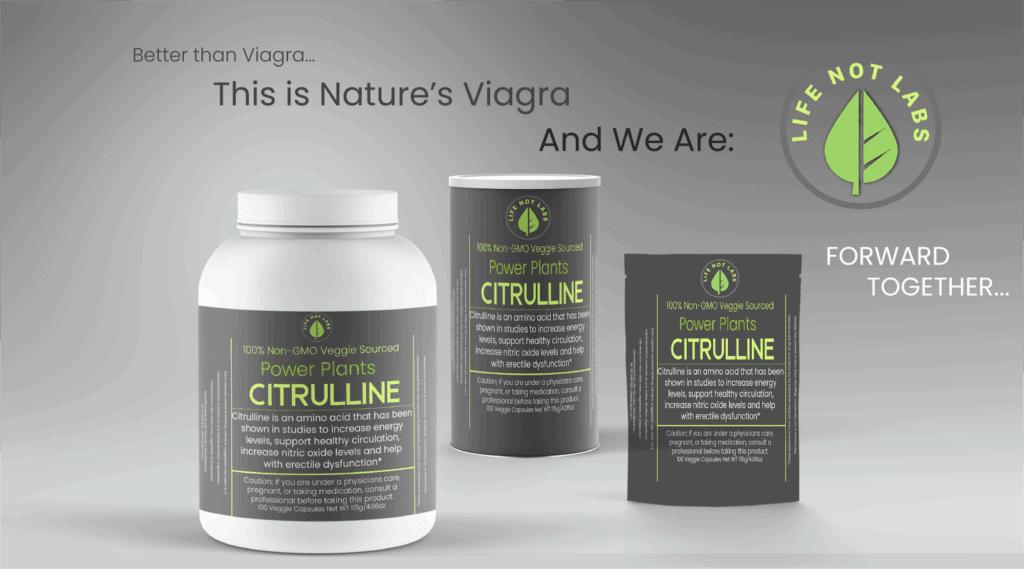 Citrulline is Nature's Viagra