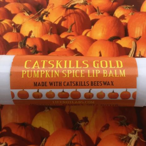 Pumpkin Spice Beeswax Lip Balm