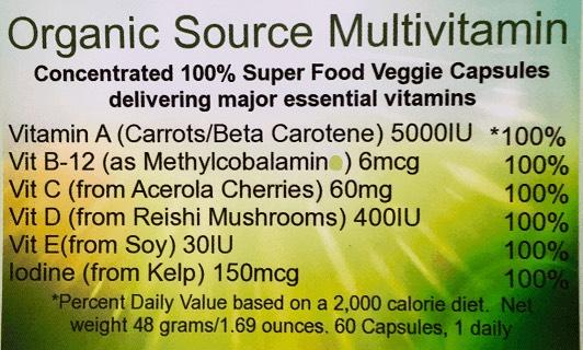 Organic Multi VItamin