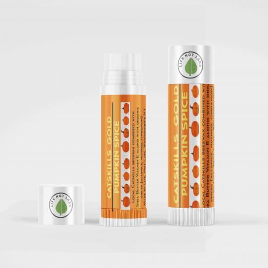 Organic Pumpkin Spice Lip Balm