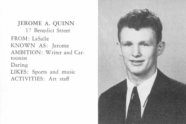 Jerome Quinn 101st Airborne Veteran, Artist (1936-2019)