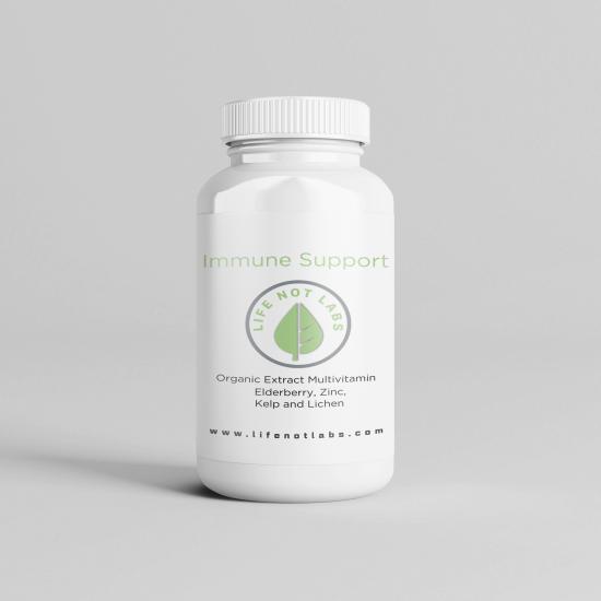 Organic Elderberry With Zinc